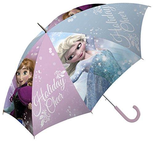 Kids Frozen Paraguas Clásico, 65 cm, Azul y Lila