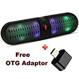 #9: Lambent Bluetooth Speaker with Calling Function/AUX/TF Card and Free OTG Adaptor For VIVO Y31