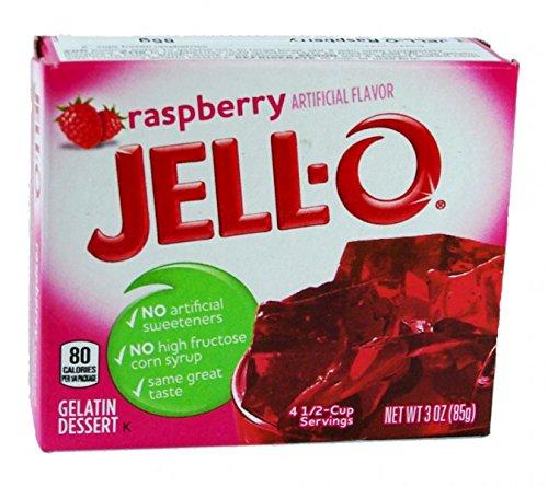 Jell-O Gelatine Dessert Raspberry (Himbeere) 85 g