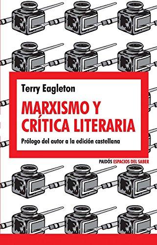 Marxismo y crítica literaria por Terry Eagleton