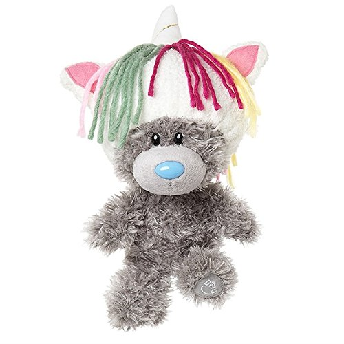 Me to You My Dinky Bear wearing unicorn hat, sits 23cm