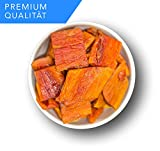 NEUE ERNTE Papaya, getrocknet ohne Zucker und ohne Zusätze - Vegan-Trockenfrüchte - 1kg
