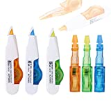 #5: RIANZ All New M&G 6Mx5MM Correction Tape / Pen with Refill (Set of 3)