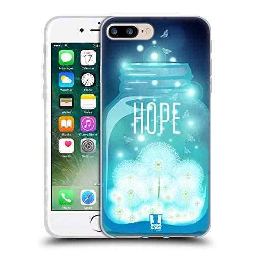 Head Case Designs Barattolo Di Sogni Barattoli Cover Morbida In Gel Per Apple iPhone 7 / iPhone 8 Vola In Alto