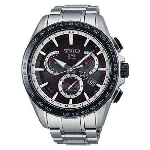 Seiko Herren-Armbanduhr Chronograph Quarz Edelstahl SSE051J1