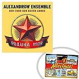 CD Alexandrow Ensemble | GRATIS DDR Geschenkkarte | Ossi Produkte | Geschenkidee für alle Ostalgiker aus Ostdeutschland | DDR Geschenke