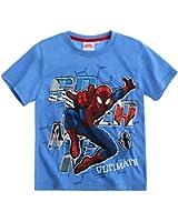 Spiderman Jungen T-Shirt 2016 Kollektion - blau