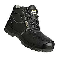 Sicherheits-Stiefel S3 Typ BESTBOY in den Größen 35 bis 48 - Das Standardmodell für den täglichen Baueinsatz!, Größe: 42