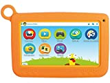 "Trevi 0K07S0209 Tablet per Bambini Display da 7"" ARM Cortex A9 RAM 1 GB HDD 8 GB Arancione"