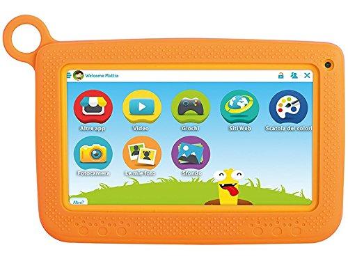 tablet per bimbi Trevi KidTab 7 S02 Tablet PC Android per Bambini con Guscio Protettivo