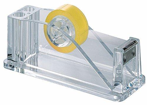 Acryl Klebebandabroller, Tischabroller für Klebebänder, glasklar