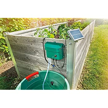 Draper 38241 Solar Powered Water Butt Pump Amazon Co Uk