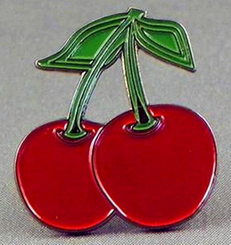 metal-enamel-pin-badge-brooch-red-cherry-pair-fruit-cherries