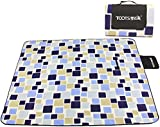 Skysper 200*200cm Waterproof Light Compact Picnic Rug Foldable Blanket