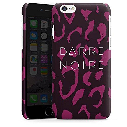 Apple iPhone 4 Housse Étui Silicone Coque Protection BARRE NOIRE Fashion Léopard Cas Premium brillant