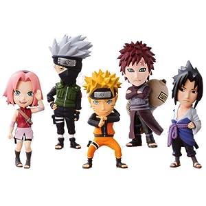 Most lottery NARUTO- Naruto - Shippuden World Collectible Figure C Awards World Collectible figure all five 4