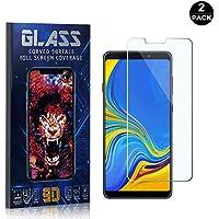 Bear Village® Galaxy A9 2018 Displayschutzfolie, HD Panzerglasfolie mit 3D Touch, 9H Härtegrad Schutzfilm aus Gehärtetem Glas für Samsung Galaxy A9 2018, 2 Stück