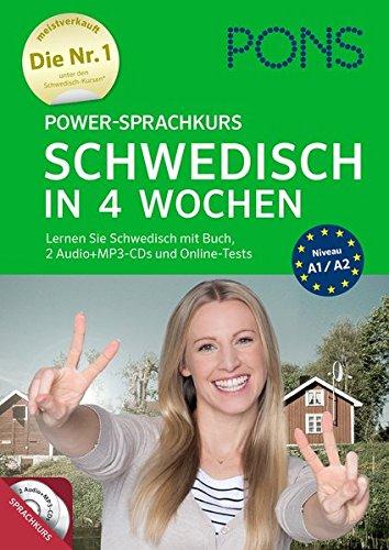 PONS Power-Sprachkurs Schwedisch: Lernen Sie Schwedisch mit Buch, 2 Audio+MP3-CD's und Online-Tests