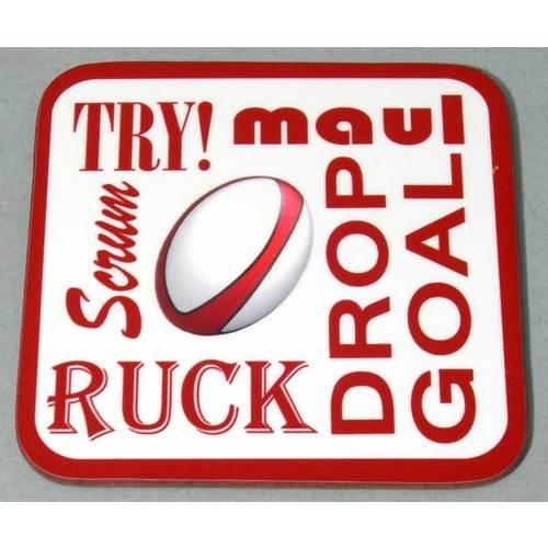 Rugby Text Untersetzer