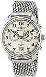 Zeppelin Herren-Armbanduhr XL LZ127 Graf Chronograph Quarz Edelstahl 7684M5