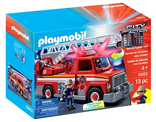 Playmobil City Action Rescue Ladder Unit vehículo