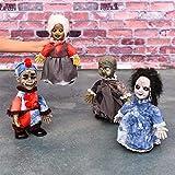 WYXBJ Halloween Toys Poupées Décorations mignonnes Des fantômes qui marchent dans une décoration créative (Size : Blue hat)...