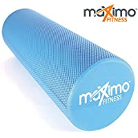 Maximo Fitness FOAM ROLLER - EVA - Superb Muscle Roller - Trigger Point - 15cm * 45cm - For -