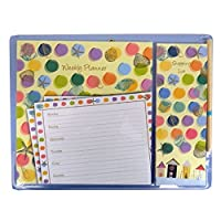 Magnetic Planner Set, Weekly Planner & Shopping List - By The Sea Design, by Gifted Stationery