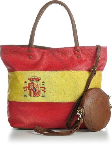 Masquenada, Borsa tote donna Multicolore 43 x 33 x 13 cm Spagna