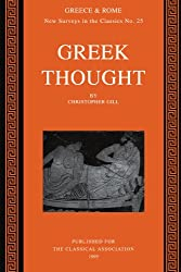 Greek Thought (New Surveys in the Classics)