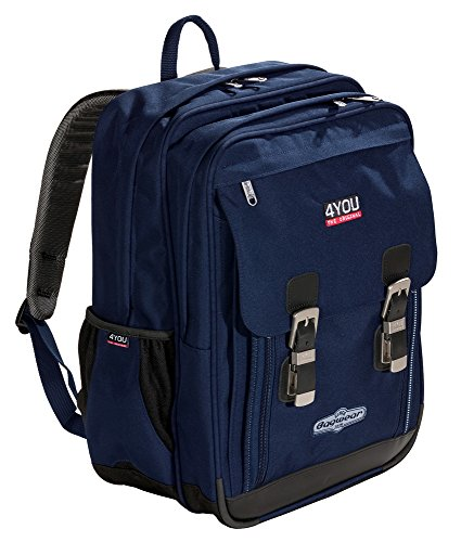 4YOU Schulrucksack Classic Plus Relfexx Blau (Navy) 11430163400 - 2