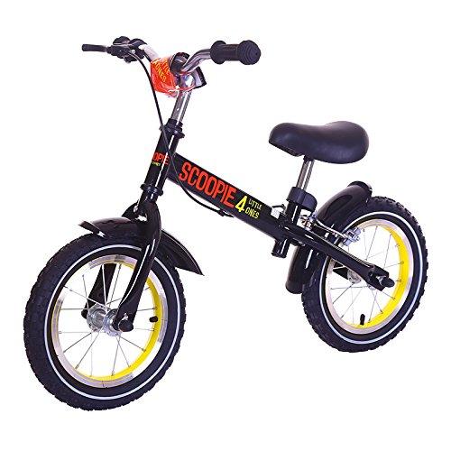 12 Zoll Laufrad Mit Handbremse Höhenverstellbar Für Junge Und Mädchen (schwarz/rot/gelb) (Zweite Hand Fahrrad)