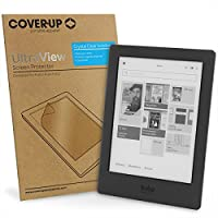 Cover-Up UltraView Crystal Clear Invisible Screen Protector for Kobo Aura H2O - (Pack of 2)