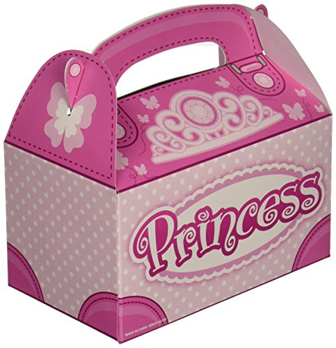 Shindigz Pink Princess Party Favor Behandeln Kästchen (12gesamt) (Princess Party-goody Bags)