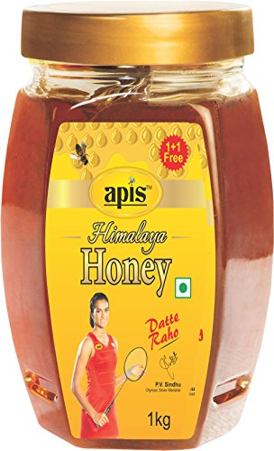 Apis Himalaya Honey, 1kg each (Buy 1 Get 1 Free)