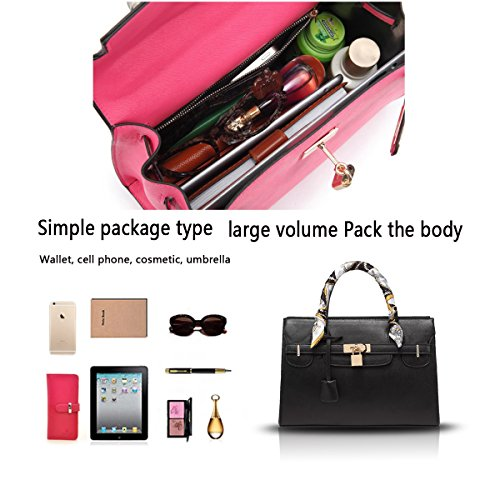 Sunas 2017 Nuova borsa borsa tracolla grande modello trasversale pacchetto borsa Platinum Grande borsa nera
