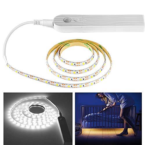 WARMTOWER - Tira Luces LED Sensor Movimiento Funciona
