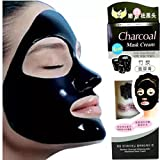 #9: SHOPEE Charcoal Purifying Cleansing Black Peel Off Anti-Blackhead Suction Mask Cream,130g - Pack of 1