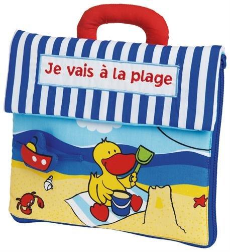 Je vais à la plage : Livre tissu