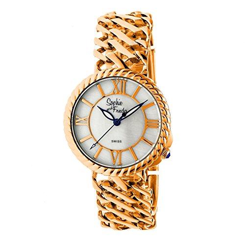 Sophie and Freda Charleston Women's Quartz Rose Gold Stainless Steel Bracelet Watch SAFSF3106