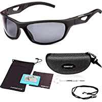 57c193e31c essence  Polarised Sports Sunglasses Mens   Womens – UV400 Eye Protection  Cycling Glasses – Also
