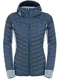 The North Face W Thermoball Gordon Lyons Hoodie - Chaqueta para mujer, color multicolor, talla XS