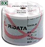 200 Ritek Ridata 8X DVD-R 4.7GB Silver Matte