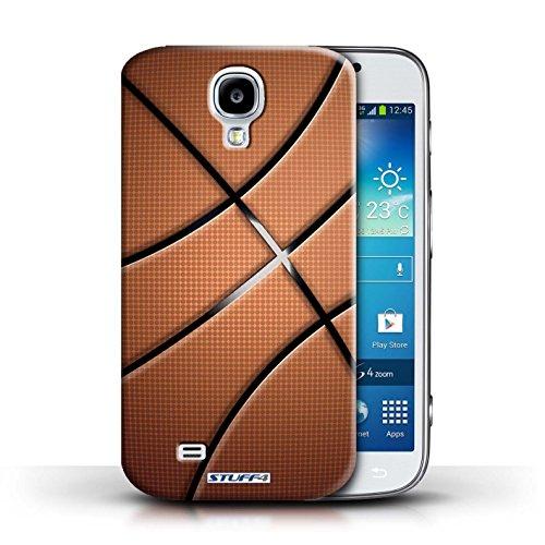 Kobalt® Imprimé Etui / Coque pour Samsung Galaxy S4/SIV / Basket-ball conception / Série Balle Sportif Basket-ball