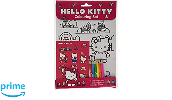 Hallo Kitty Färbung Set 1201/HKCS: Amazon.de: Spielzeug