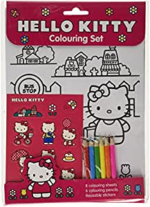 Alligator Books Hello Kitty Colouring Set