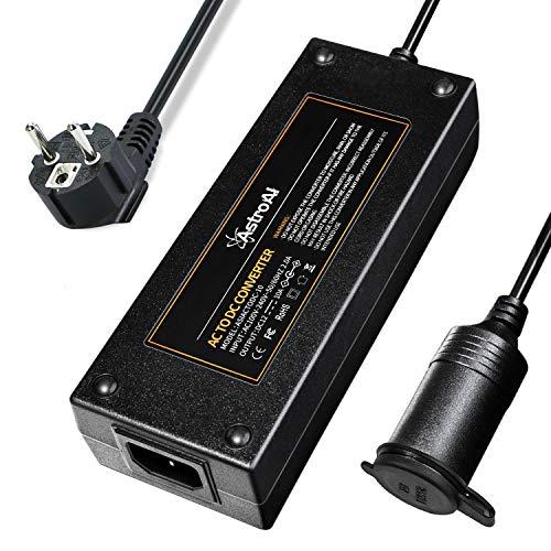 AstroAI KFZ Netzadapter Spannungswandler AC-DC Netzteil Adapter Stromwandler 100V/110V-220V/230V/240V auf 12V Zigarettenanzünder Netz-Adapter 10A 120W