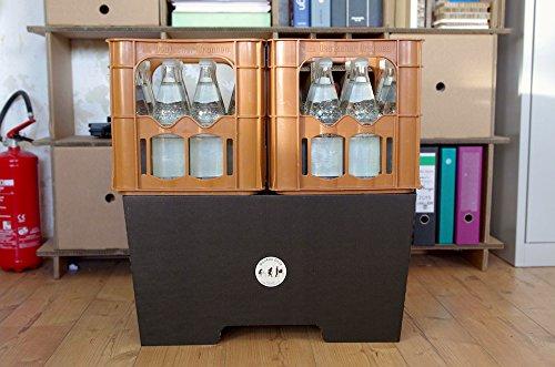 ROOM IN A BOX | MonKey Desk L/N: Faltbares ergonomisches Stehpult, praktischer Ständer für Laptop, PC, Tablet und Monitor, klappbarer Standing Desk für den Schreibtisch - 6