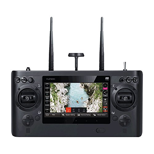 YUNEEC Typhoon H Pro mit Intel RealSense Technologie Hexakopter (CGO3 plus Kamera 12 MP, 4K UHD Videofunktion, 17,8 cm (7 Zoll) Touchscreen, Intel-Prozessor) schwarz - 4