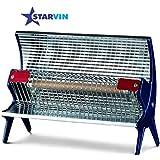 starvin Happy Home Laurels Rod Type Heater || Room Heater || 1 Season Warranty || Model – Priya Disco || T-85